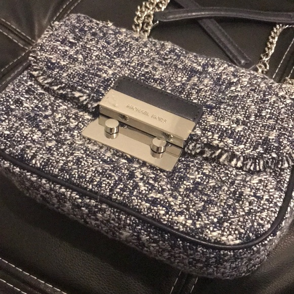 d874f48d49e4 MICHAEL Michael Kors Bags | Michael Kors Sloan Tweed Quilted Bag ...